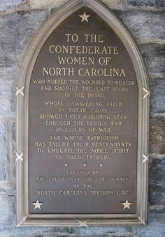 N.C. Confederate Women memorial