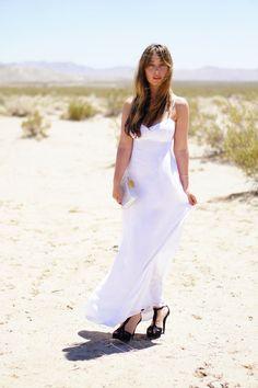 Desert Wanderer... #maxidress #summer #white