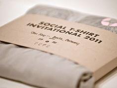 Dribbble - Shirt Sleeve by Social Design House … Shirt Packaging, Clothing Packaging, Sleeve Packaging, Craft Packaging, Clothing Labels, Packaging Ideas, Sleeve Designs, Shirt Designs, Social Design