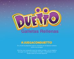 """Check out my @Behance project: """"Juega con Duetto""""…"""