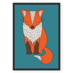 Poster Fox de @elebea | Colab55