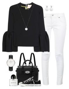 """""""Untitled #289"""" by laurettered on Polyvore featuring Anine Bing, Roksanda, Mulberry, Converse and Byredo"""