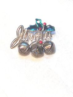 Vintage Jingle Bells Brooch or Pendant by NorthCoastCottage, $29.00 #vintage #Christmas #jewelry #etsy