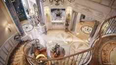 luxury villa staircase 2