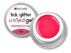 GLITTER GEL NEON PINK 5ml Nailart, Neon, Glitter Gel, Pink, Beauty, Embellishments, Neon Colors, Pink Hair, Beauty Illustration