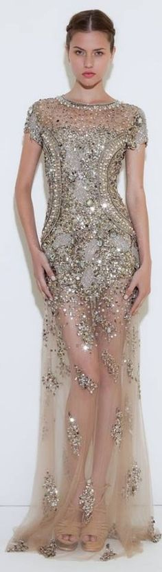 Bling bling detailed skirt