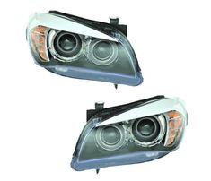 Oem Valeo Pair Of Bi-Xenon Headlights Fits Bmw X1 E84 2012 63112993495 44807 63112993496 44808