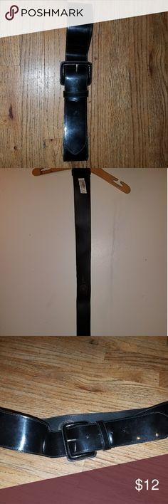 Belts Black patent leather GAP belt never been worn super cute around waist GAP Accessories Belts