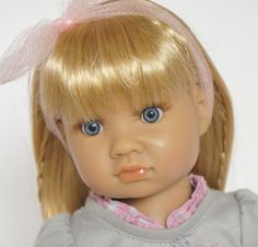 A close up of Alyssa by Sonya Hartmann, one of the new dolls for 2015 from the Kidz 'n' Cats range.