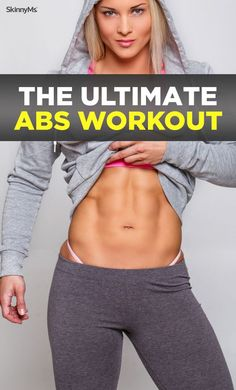 The Ultimate Abs Workout