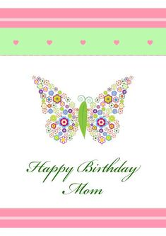 28 Best Printable Birthday Cards For Family Images