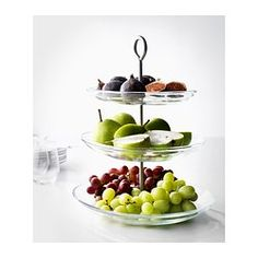 IKEA 365+ Serving platter, 3 tiers - IKEA $15 x2 (one for vanity storage?)