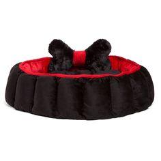 Cuddler Velvet Royal Nest Dog Bed
