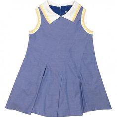 Raspberry Plum Tennis Dress Blue