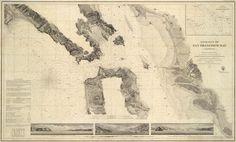 Entrance to San Francisco Bay  1859