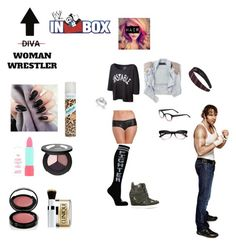 """Doing the WWE Inbox with Dean"" by thefuturemrsambrose ❤ liked on Polyvore featuring Alivila.Y Fashion, Shakuhachi, Rimmel, Smashbox, Batiste, Bobbi Brown Cosmetics, Clinique, Kate Spade, Zigi Soho and WWE"