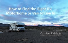 If you've decided to live a nomadic life, finding the right RV, Motorhome, Van or trailer to live in can be a daunting task. Rv Lots, Buying An Rv, Online Sites, Truck Camper, House On Wheels, Rv Living, Shopping Hacks, Driving Test, Going To Work