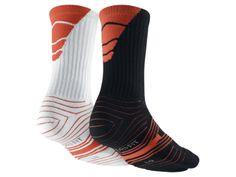 The Nike Dri-FIT Performance Crew Football Socks (Large/2 Pair). medium