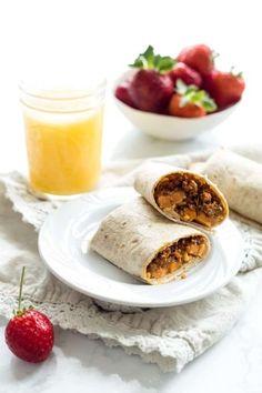 Sweet Potato Vegan Breakfast Burritos Vegan Breakfast Burritos  Mein Blog: Alles rund um die Themen Genuss & Geschmack  Kochen Backen Braten Vorspeisen Hauptgerichte und Desserts