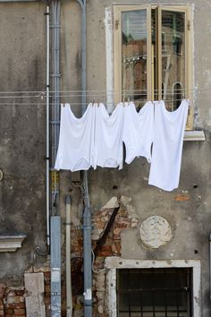 Washing line, Venice by Kenneth Gray, via 500px
