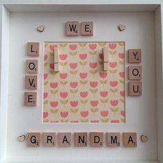 We Love You Granny Nanny Nan Mummy Mum Photo Box Frame Mothers Day Gift | eBay