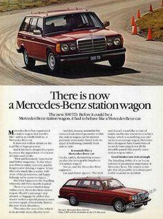 1979 Mercedes-Benz station wagon 300 TD Nice 2 Pg Car Ad | eBay