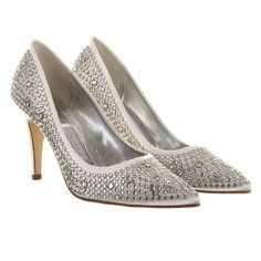Rainbow Club Antonia Stud Court Wedding Shoes Size UK 7 Euro 40 Ivory in Clothes, Shoes & Accessories, Wedding & Formal Occasion, Bridal Shoes | eBay