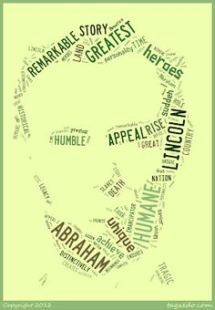 Biography research. Using the information they gather, have students make a biopoem. Once they have created the poem, they can copy it into Tagxedo or Wordle.