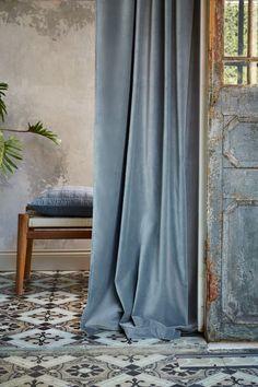 Pair of Peacock Blue Velvet Curtains, Bedroom Velvet Curtains, Living Room Velvet Curtains, Custom Curtains Velvet Curtains Bedroom, Blue Velvet Curtains, Curtains Living, Lined Curtains, Custom Curtains, Samana, Hippie Curtains, Home Trends, Interior Design