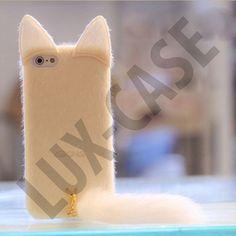 Miau (Hvit) iPhone 5 Deksel