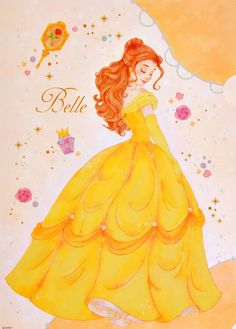 Disney Princess, Belle, The Beauty and the Beast