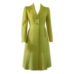proportions are so pleasing - Vintage Prada Coat with Matching Skirt