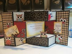 Calla Lily Studio Blog: Good bye Owl Card