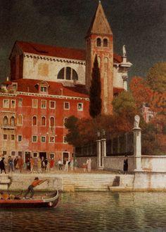 Joseph Edward Southall (1861-1944) —  San Vitale, 1943  (1425×2000)