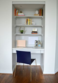 Office nook, combo living room office Boho-Condo Reveal! — StyleMutt Home - Your Home Decor Resource For All Breeds Of Style