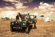 Safaris are a popular honeymoon activity for couples