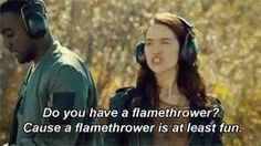 The earp girls really need to get flamethrowers for S2
