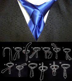 """""""The Amazing Ediety/Merovingian Tie Knot"""" Wow...für diesen außergewöhnlichen Knoten findet ihr bei Uli Schott - The unknown brand die passenden Krawatten. 100 % Seide und Made in Italy. Überzeugt euch schon mal unter www.ulischott.de #fairtrade #menswear"""