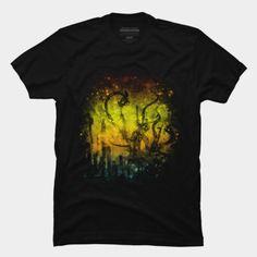 Bizarre cityscape t-shirt.