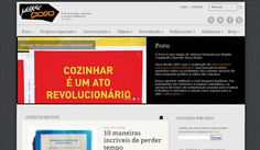 O Poro completou 10 anos de atuação e, dentro das comemorações, preparou um site novinho em folha: www.poro.redezero.org