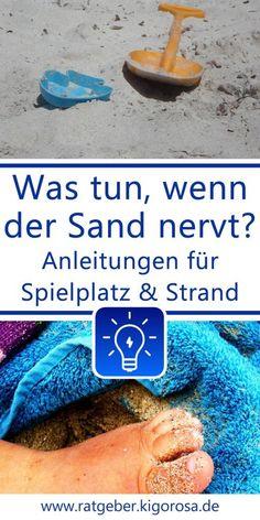 Füße entsanden - sandfreier Rastplatz Tricks, Holland, Camping, Baby, Family Life, Playground, Home Remedies, Tutorials, Kids