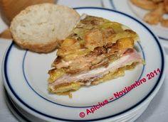 Tortilla de tres pisos con relleno | La Cocina Paso a Paso