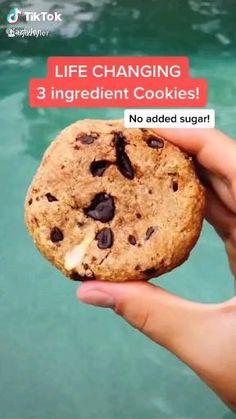 Healthy Dessert Recipes, Healthy Baking, Healthy Desserts, Healthy Snacks For Kids, Healthy Meal Prep, Health Sweet Snacks, Heatly Snacks, Healthy Baked Snacks, Healthy Munchies