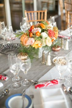 Lovely Little Details - Table Arrangement