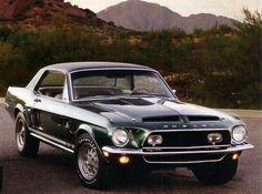 - 1968 Shelby EXP500 Green Hornet