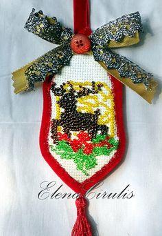 в Embroidery, Christmas Ornaments, Holiday Decor, Home Decor, Needlepoint, Decoration Home, Room Decor, Christmas Jewelry, Christmas Decorations