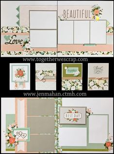 Together We Scrap: May Creative Class - Hello Lovely Wedding Scrapbook Pages, Love Scrapbook, Scrapbook Sketches, Scrapbook Stickers, Scrapbook Cards, Christmas Scrapbook Layouts, Scrapbooking Layouts, Cruise Scrapbook, Creative Class