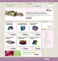 PrestaShop Template by Mari Arti... I like the coloring on this one.