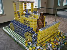 "CANstruction  Gilbane finished in 2nd place and only missed 1st place by 1 vote. However, Gilbane did win an award for ""Structural Integrity""."