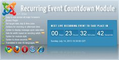 Live Brodcast Countdown Module . Live has features such as High Resolution: No, Compatible Browsers: IE7, IE8, IE9, Firefox, Safari, Opera, Chrome, Extension Type: Module, Software Version: Joomla 3.1.x, Joomla 3.0.3, Joomla 3.0.2, Joomla 2.5.x, Joomla 2.5.11, Joomla 2.5.9, Joomla 2.5.8, Joomla 2.5.7, Joomla 2.5.5, Joomla 2.5, Joomla 1.7